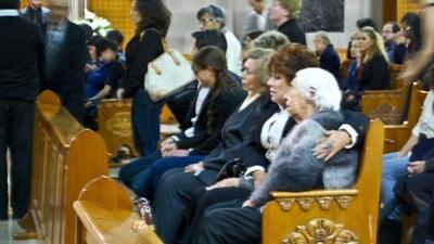 Se llevó a cabo una misa en memoria de Yolanda Miranda Mange