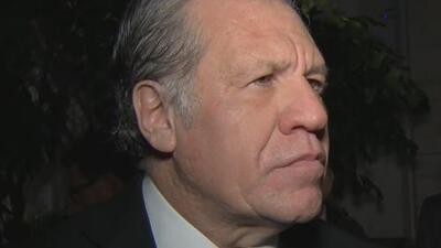"""""""Es tiempo que termine la impunidad con la que viven los dictadores cubanos"""": secretario general de la OEA"""