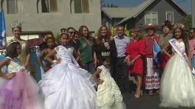 Así celebra la comunidad centroamericana del sur de California la independencia de sus países