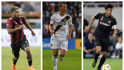 La MLS busca al MVP de 2018: Josef Martínez, Zlatan Ibrahimovic y Carlos Vela, los candidatos más fuertes