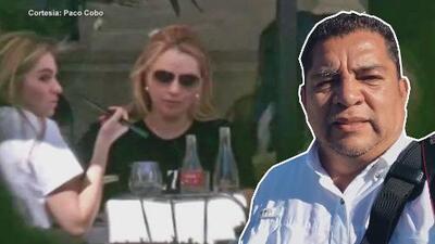 Guardaespaldas de 'La gaviota' obligan a reportero de Univision a borrar fotos que le tomó en París