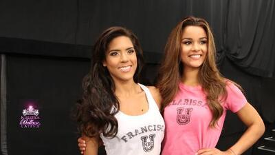 Francisca y Clarissa las favoritas de Nathalia y Catherine