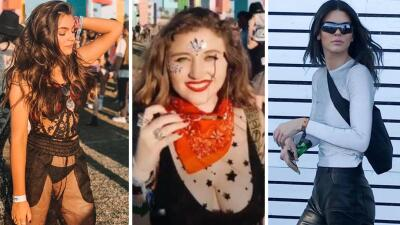 Las hijas de Angélica Rivera y otros famosos que lucieron sus mejores outfits en Coachella
