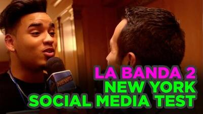 Elison Joel takes the Social Media test in La Banda Auditions New York