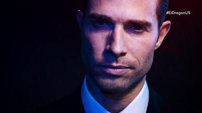 Sebastián Rulli es 'El Dragón' en la serie más importante de la televisión