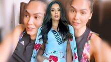 La Miss Universo Andrea Meza sufrió los estragos de una explosión cerca de su casa