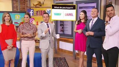 ¿Yanny o Laurel?: este extraño audio ha dividido al Internet, y también a nuestros conductores