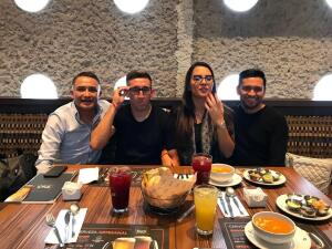 En fotos: Las vacaciones de los jugadores mexicanos después del Mundial