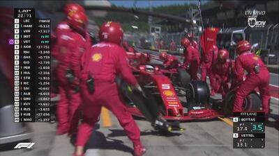 ¡Ayúdenlo, compadres! Mecánicos sabotean a Sebastian Vettel
