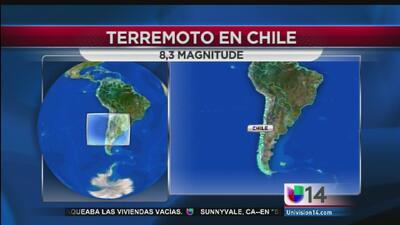 California y Hawai en alerta por sismo en Chile