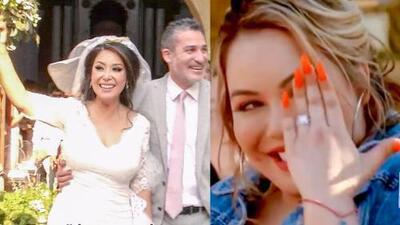 Lo más visto de la semana: Addis Tuñón tuvo la boda de sus sueños y Chiquis Rivera presumió su anillo de compromiso
