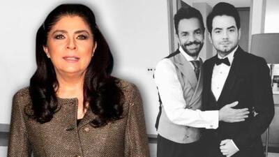 La indirecta de José Eduardo Derbez a su madre Victoria Ruffo por lo distante que creció de su padre Eugenio