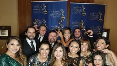 KUVN Univision Dallas recibe premios en 16 categorías en los Lone Star Emmy 2017
