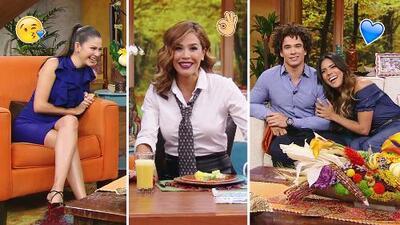 DAEnUnMinuto: Todos nos vestimos de azul, pero Karla quiso imitar el look de Ana en Mira Quién Baila