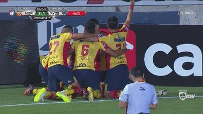 La joya oculta de Monarcas, Gastón Lezcano, hace el 2-1 contra Rayados