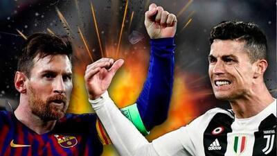 Nueva batalla Cristiano vs. Messi, compiten por el mejor gol de la UEFA