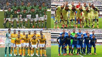 Definidos equipos de la Liga MX que jugarán la Concacaf Liga de Campeones