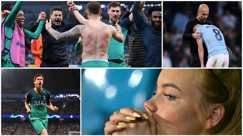 Contrastes en Champions: así celebró Tottenham el pase a la Semifinal en la casa del City