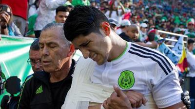 Con Pulido lesionado, triste triunfo del 'Tri' rumbo a Copa Oro
