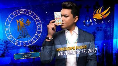 Niño Prodigio - Virgo 17 de noviembre 2017