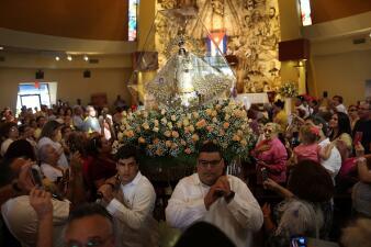 En fotos: Católicos de Miami celebran a la Virgen de la Caridad