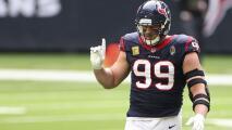 J.J. Watt queda libre de los Houston Texans y lo vinculan con los Steelers