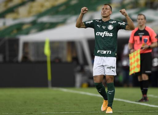 """Breno Lopes es el """"inesperado """"y """"desconocido"""" héroe del Palmeiras"""