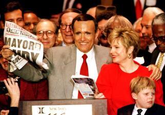 La vida en fotos del 'alcalde de América', Rudy Giuliani
