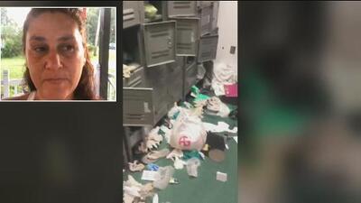 """Consternada, mujer cuenta el """"terror"""" que sintió al grabar el caos que dejó una redada de trabajadores por ICE"""