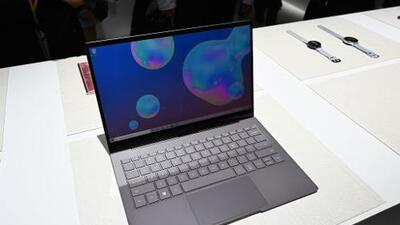 Conoce el Galaxy Book S, la nueva computadora portátil de Samsung