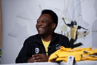 Pelé y Univision.com juntos en Nueva York