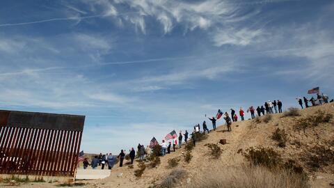 En un minuto: Trump va a la frontera en semana clave para evitar otro cierre de gobierno