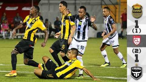 Real España 1-1 Tauro FC – RESUMEN Y GOLES – Concacaf League