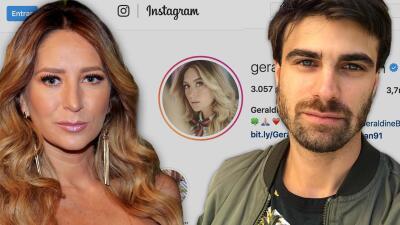 Sin besitos ni un 'te quiero', Geraldine Bazán y Santiago Ramundo se felicitan en Instagram