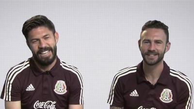 Oribe Peralta le confesó a Layún que lo 'comparan' con Cristiano Ronaldo por lo guapo