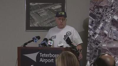 Autoridades aseguran que avioneta que se estrelló en Nueva Jersey no registró problemas hasta un minuto antes del accidente