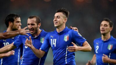 Italia cumple triunfo ante Azerbayán para certificar su presencia en la Eurocopa