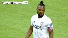 El 'tico' Kendall Waston revienta el travesaño y deja escapar el primer gol para FC Cincinnati