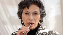 Patricia Reyes Spíndola encontró otra buena opción del cubrebocas para cuidar el peso en la casa