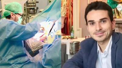A sus 33 años, este médico colombiano recibirá el Premio al Neurocirujano Joven del Año en China