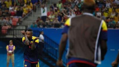Colombia empató a dos con Suecia en su regreso a los Juegos Olímpicos