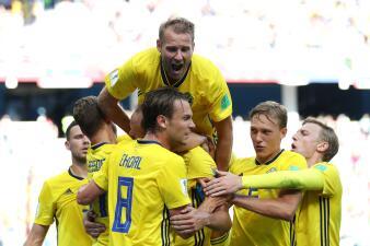 En fotos: Suecia derrotó 1-0 a Corea del Sur en un duelo parejo del grupo F