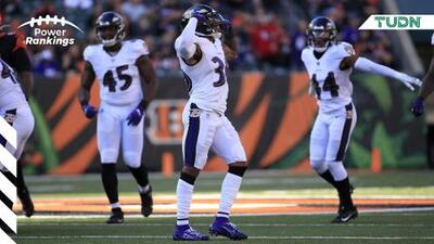 Los Ravens son los nuevos líderes de los Power Rankings TUDN