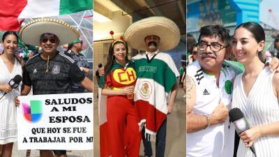EN FOTOS: Mafer Alonso fue sorprendida por la afición mexicana en Texas
