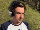 Así luce Fernando Alonso tras ser operado por accidente en bicicleta
