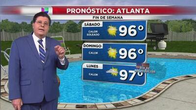 Ola de calor se mantendrá el fin de semana sobre Atlanta y se extenderá por días