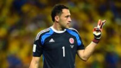 El portero colombiano David Ospina firmó con el Arsenal