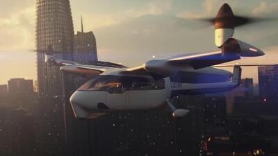 Una mezcla de avioneta con helicóptero: así luce el prototipo de aeronave de Uber