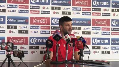 Gigliotti se dice casi al 100 para jugar con Toluca