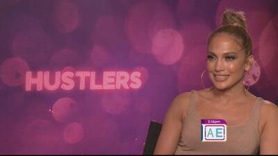 """Jennifer López revela el misterioso mundo de bailarinas estafadoras en la cinta """"Hustlers"""""""